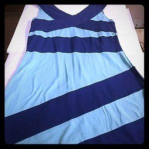 Aqua Blue Dress, Size Medium